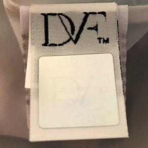 Diane Von Furstenberg Dresses - DVF Jeannie Cotton Blue Fit And Flare Dress